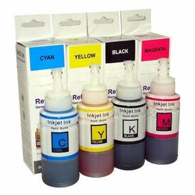 Kit 4 Cores Tinta Epson T664 Compativel 70ml Lote Com 50 Kit