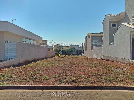 Terreno À Venda, 300 M² Por R$ 318.000 - Condomínio Reserva Real - Paulínia/sp - Te0259