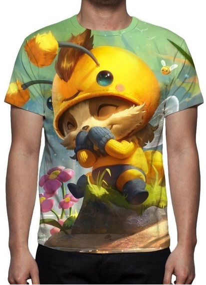Camiseta Lol Teemo Abelheemo - Estampa Total