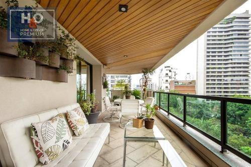 Imagem 1 de 30 de Apartamento Com 4 Dormitórios 4 Suítes, 386 M² - Vila Nova Conceição - São Paulo/sp - Ap0941