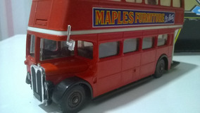 Miniatura Onibus 1/50 Solido Bus Londonien Double Decker