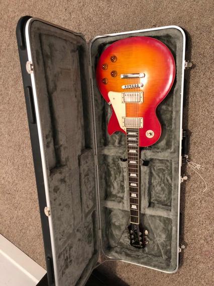 Guitarra Les Paul Standard Plus Top Pro De Oportunidad