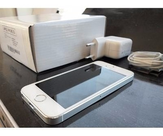 Apple iPhone 5s 16gb Branco Prata Desbloqueado Original