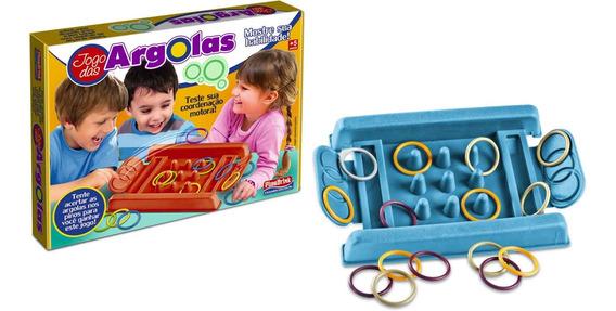 Brinquedo Educativo Jogo Das Argolas Didático Presente