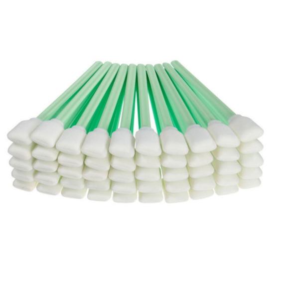 100 Cotonetes Para Limpeza De Plotters