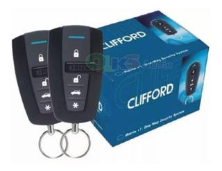 Alarma De Seguridad Para Automovil De 3 Canales Con Sensor De Impactos Led Indicador Marca: Clifford Modelo: 3400x