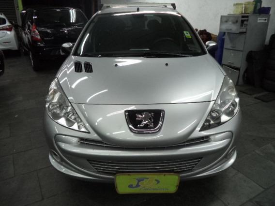Peugeot 207 1.4 Xr Sport Flex 5p Completo Abs 2012 Prata