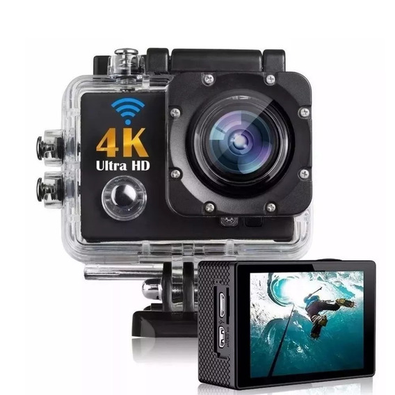 Câmera De Capacete Go Sports Pro Ful Hd 1080p 4k Wifi
