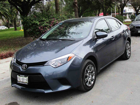 Toyota Corolla S 2016 Color Gris