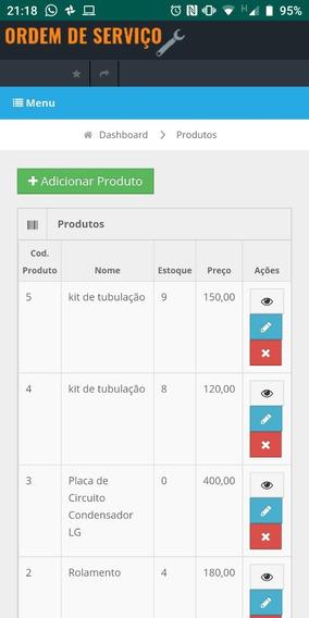Aplicativo Android Para Ordem De Serviço Da Sua Empresa