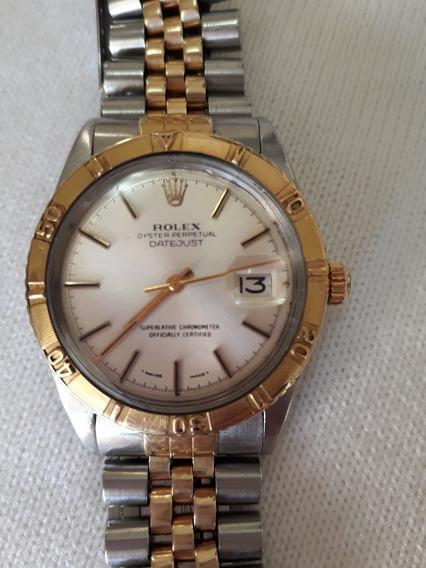 Relógio Rolex Datejust Turnograph Ref 1625 Ouro E Aço 36mm Pulseira Jubilee- Bela Raridade R$18.500,00