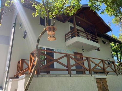 Casa Com 2 Dormitórios À Venda, 160 M² Por R$ 1.390.000,00 - Parque Das Fontes - Gramado/rs - Ca0722