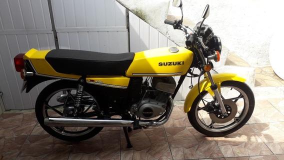 Suzuki Gt 200 X5 Bicilindrica