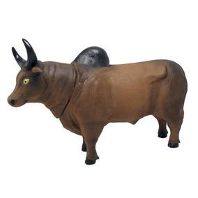 Boi Vaca Touro Animais Da Fazenda Borracha 13 Cm Bee Toys