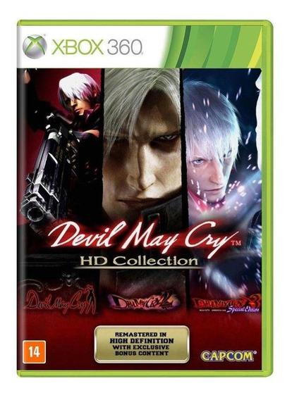 Devil May Cry Hd Collection Xbox 360 Mídia Física Lacrado