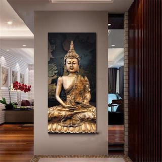 Lienzo Moderno Con Diseño De Buda, Para Decoración De Pared,