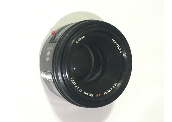Lente Minolta Af A-mount 50mm 1.7 Boa Para Câmeras Sony