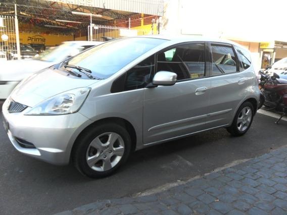 Honda Fit Lx 1.4 Prata 2009