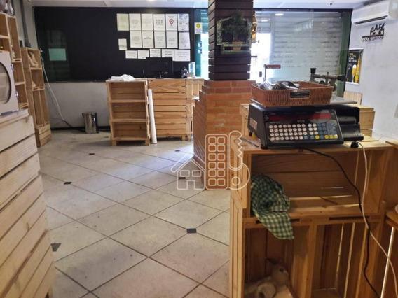 Loja Para Alugar, 100 M² Por R$ 4.500,00/mês - Icaraí - Niterói/rj - Lo0093