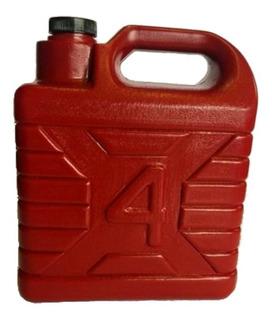 Bidón Garrafa De 4 Litros Para Gasolina, Agua O Químicos Económica