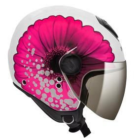Capacete Peels Freeway Bloom Branco/rosa