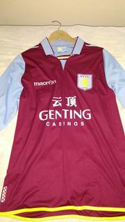 Camisa Aston Villa Manga Longa