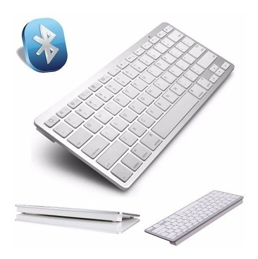 Teclado Bluetooth Compat. Mac Apple iPad 3 4 Mini 5 Air A35