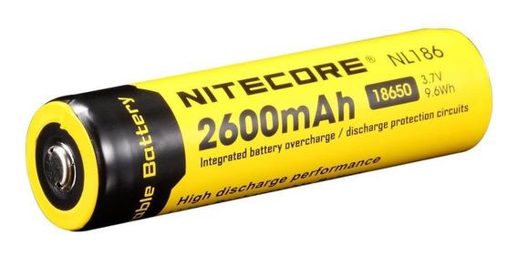 Bateria Nitecore 18650 Li-ion 2600 Mah Nl1826 3,7 V Kit C/4