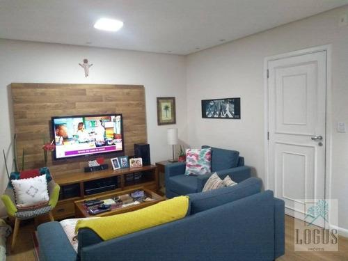 Imagem 1 de 21 de Apartamento Com 3 Dormitórios À Venda, 103 M² Por R$ 510.000,00 - Santa Paula - São Caetano Do Sul/sp - Ap0457