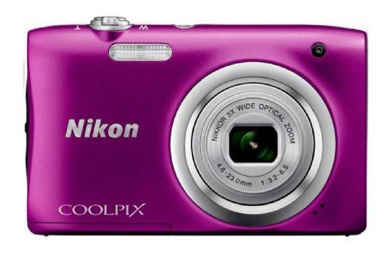 Nikon Coolpix A100 compacta color púrpura