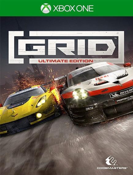 Grid Ultimate Xbox One - 25 Dígitos (envio Flash)