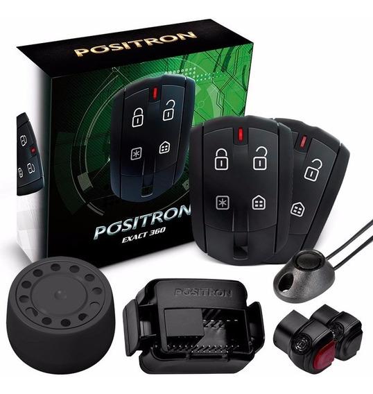Alarme Automotivo Pósitron Cyber Exact Ex 360 Universal