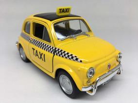 Miniatura Fiat Nuova 500 Taxi