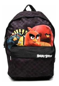 Mochila Infantil Escolar Masculina Angry Birds
