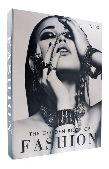 Livro Caixa Decorativo The Golden Book Of Fashion