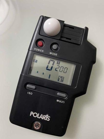 Fotômetro De Mão Polaris Luz Incidadente, Rebatida, Flash