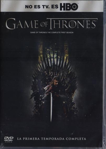 Game Of Thrones Juego De Tronos Primera Temporada 1 Uno Dvd