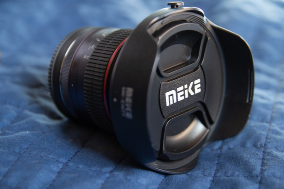 Lente Meike 12mm F 2.8 Para Canon Mirrorles Ef-m