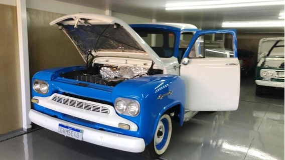 Chevrolet Brasil 3100 1963 Aceitro Troca Dodge F100 Maverick