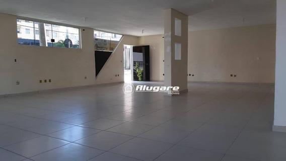 Salão Para Alugar, 120 M² Por R$ 2.900,00/mês - Centro - Guarulhos/sp - Sl0030