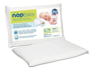 Travesseiro Visco Elástico Nasa Recém Nascido Baby Nap