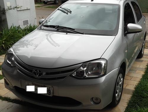 Toyota Etios 1.3x 2015 Único Dono Todas Rev. Concessionária