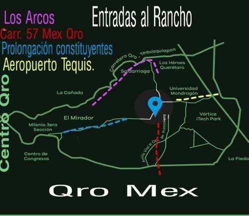 Terreno 52,000 Mts. Zona El Marqués Querétaro Qro.