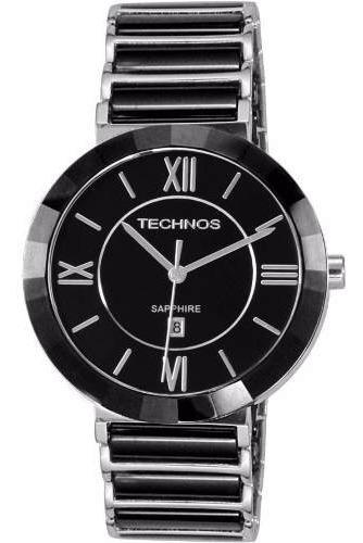 Relógio Technos Feminino Em Cerâmica 2015bx/1p - Safira