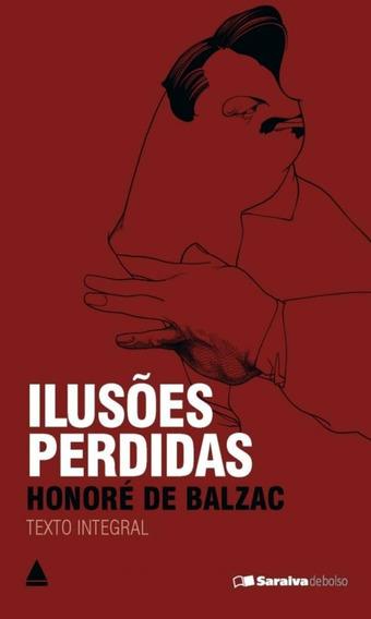 Livro De Bolso Ilusões Perdidas Honoré De Balzac Literatura