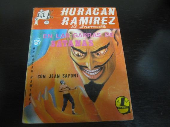 Huracán Ramirez Numero 109 Fotonovela Policíaca 70s