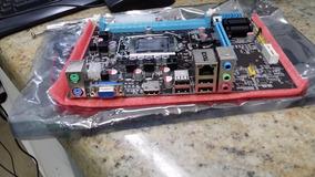 Placa Mãe 1155 H61 P/ I3 I5 I7 2a E 3a Ger Intel Bios 2019