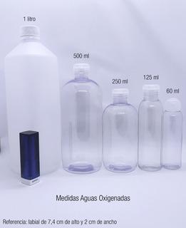 Agua Oxigenada De 10-40-50- X 500 Ml