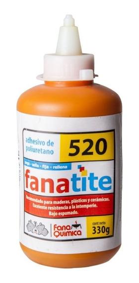 Adhesivo De Poliuretano / Fanatite 520 Pegamento Madera 330g
