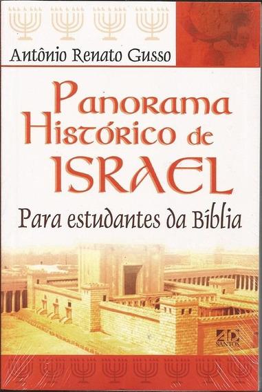 Livro Antônio R.gusso - Panorama Histórico De Israel